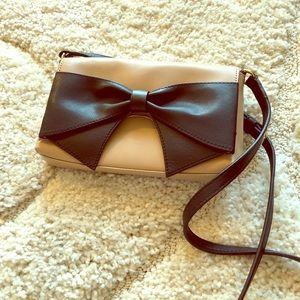 Kate Spade bow purse like new